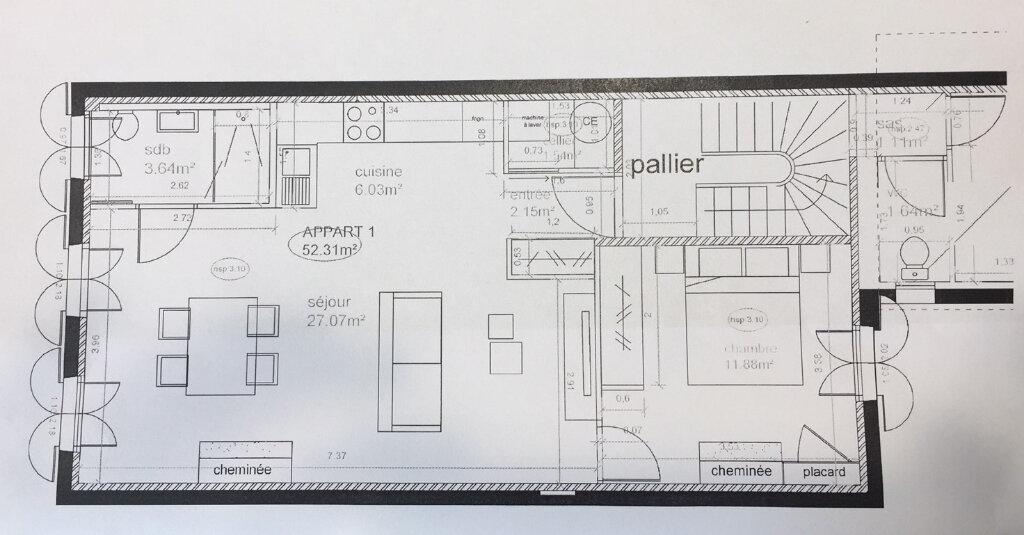 Appartement à vendre 2 52.31m2 à La Rochelle vignette-2
