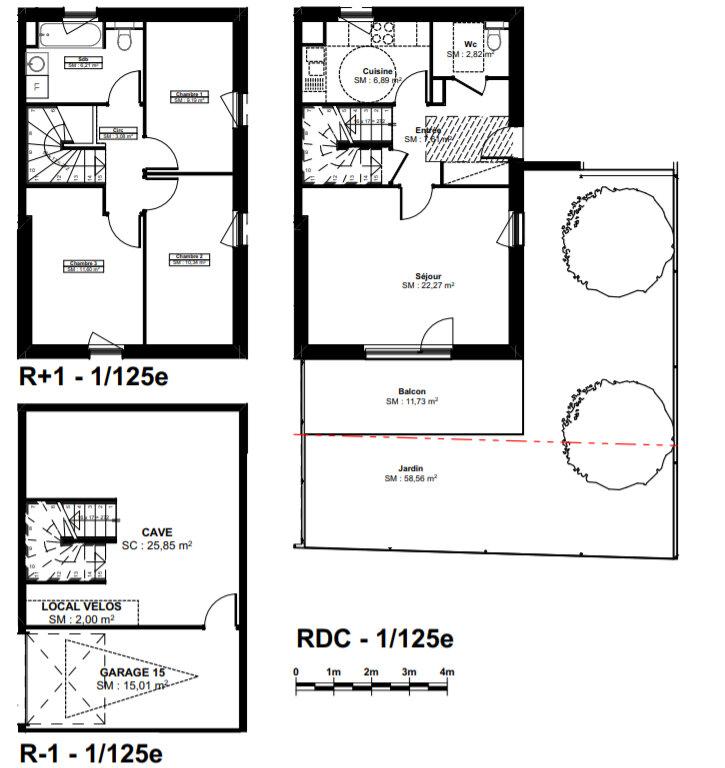 Appartement à vendre 3 80.01m2 à Kembs vignette-2