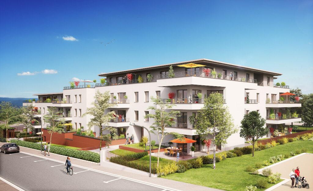 Appartement à louer 2 41.56m2 à Villers-lès-Nancy vignette-1