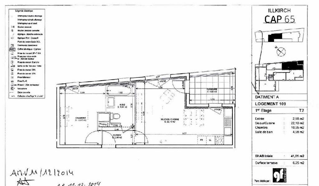 Appartement à louer 2 41.01m2 à Illkirch-Graffenstaden vignette-5