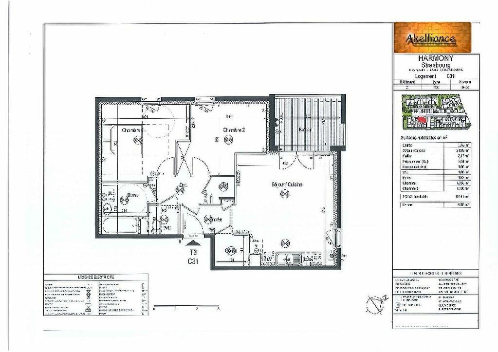 Appartement à louer 3 62.41m2 à Strasbourg vignette-8