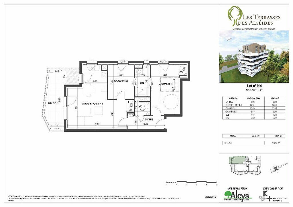 Appartement à louer 3 63.41m2 à Illkirch-Graffenstaden vignette-6