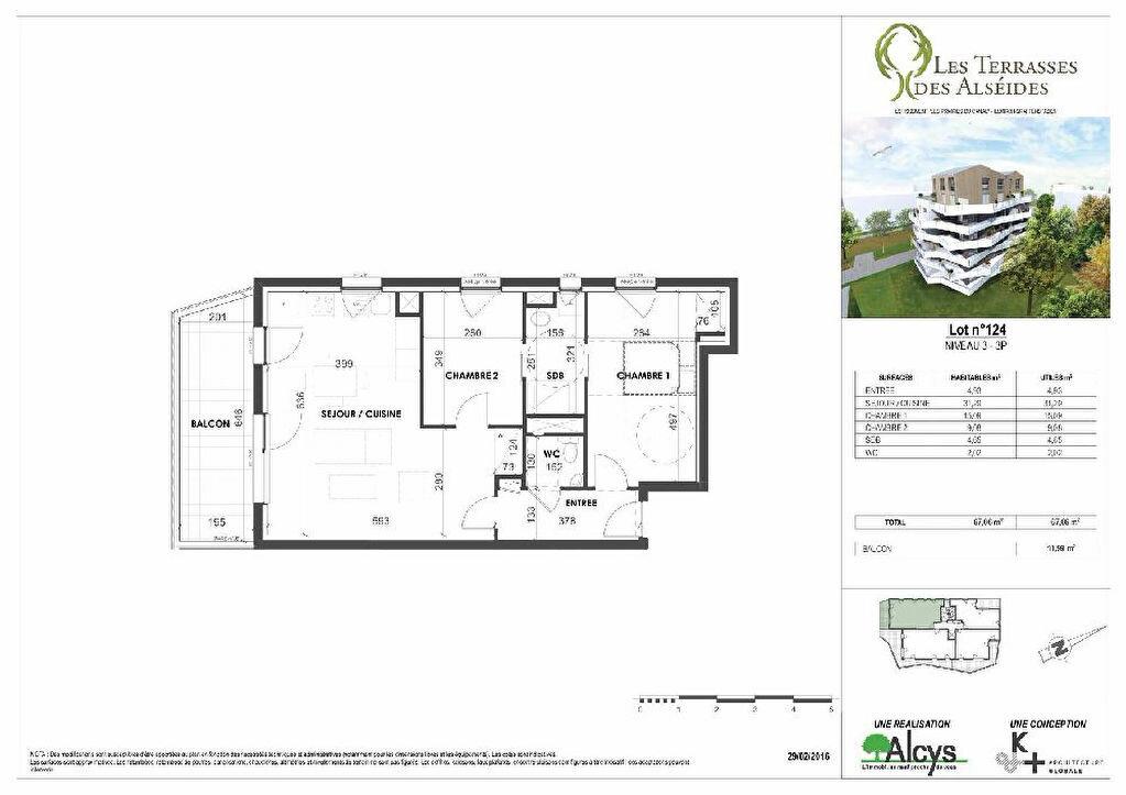 Appartement à louer 3 67.06m2 à Illkirch-Graffenstaden vignette-10