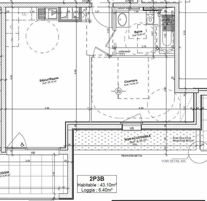 Appartement à louer 2 43.1m2 à Obernai vignette-4