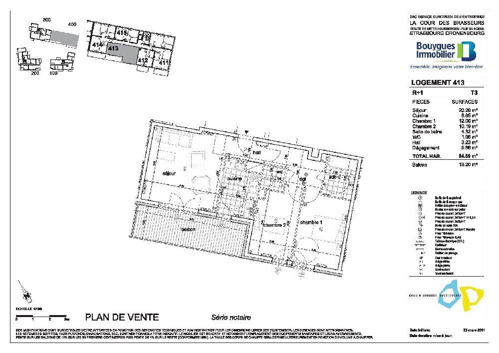 Appartement à louer 3 64.69m2 à Strasbourg vignette-9