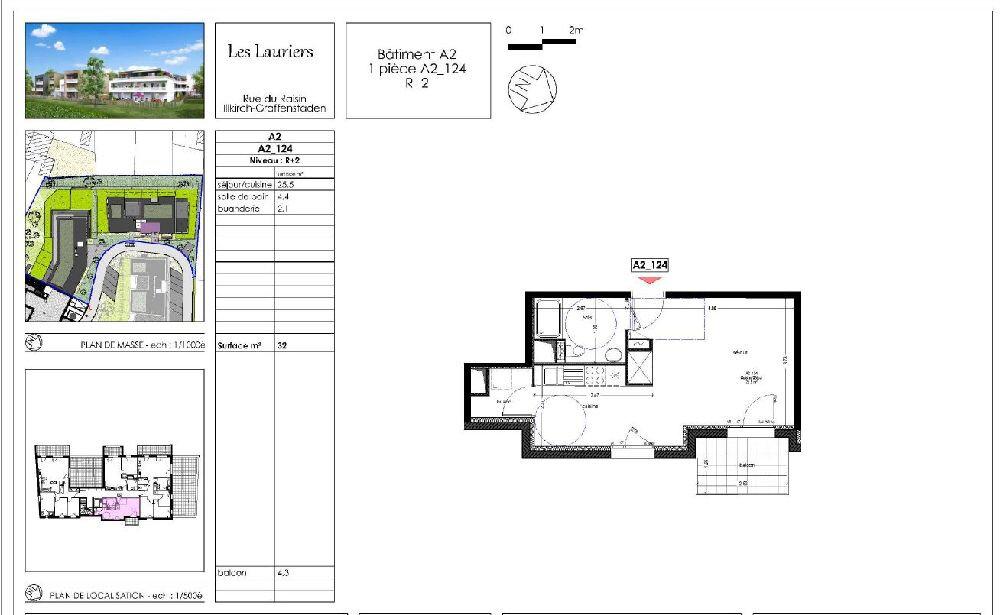 Appartement à louer 1 32m2 à Illkirch-Graffenstaden vignette-2