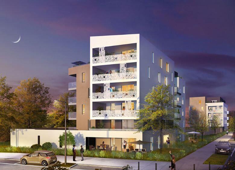 Appartement à louer 3 61.87m2 à Lingolsheim vignette-1