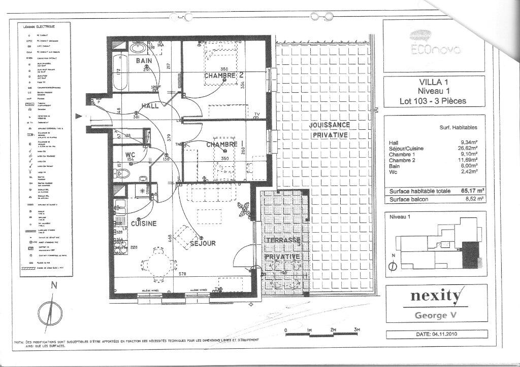 Appartement à louer 3 65.17m2 à Lingolsheim vignette-10