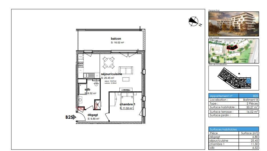Appartement à louer 2 50.27m2 à Illkirch-Graffenstaden vignette-2