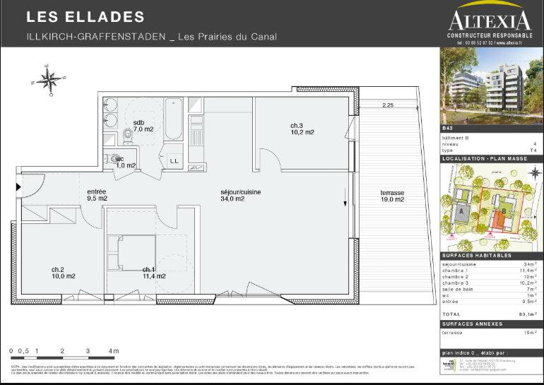 Appartement à louer 4 83.1m2 à Illkirch-Graffenstaden vignette-7