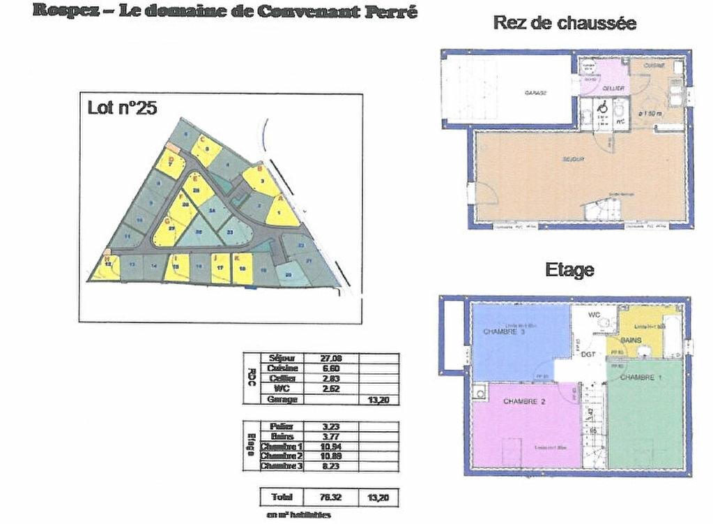 Maison à vendre 4 76m2 à Rospez vignette-8