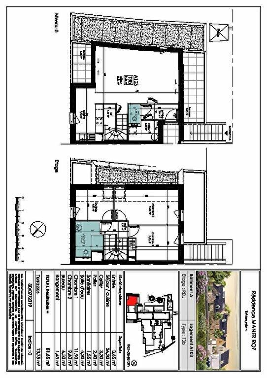 Appartement à vendre 3 81.65m2 à Trébeurden vignette-5