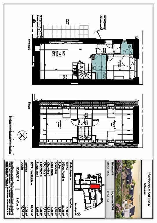 Appartement à vendre 4 87.15m2 à Trébeurden vignette-5