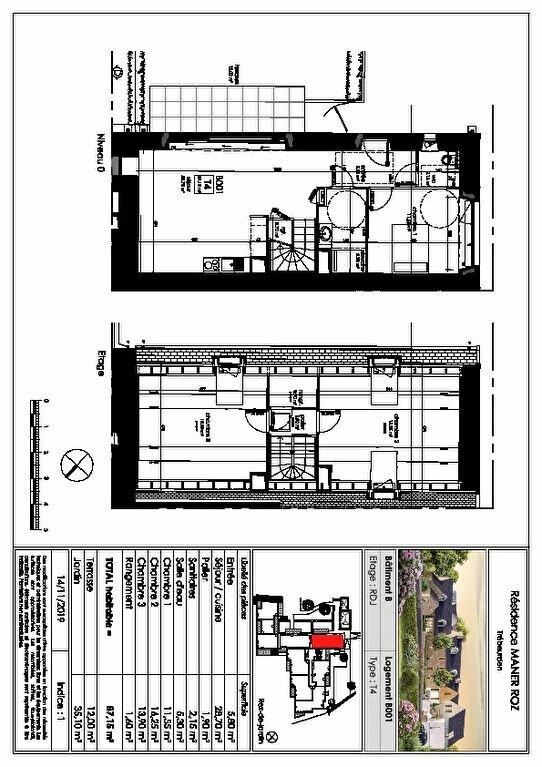 Appartement à vendre 3 83.3m2 à Trébeurden vignette-5