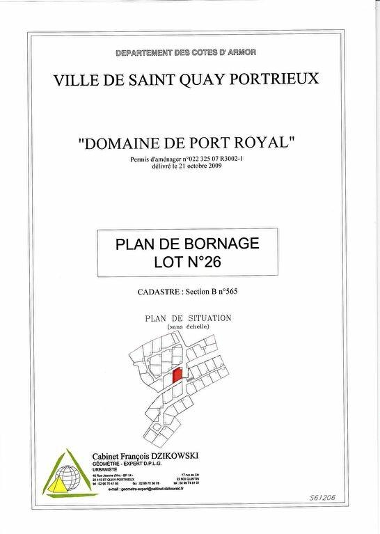 Terrain à vendre 0 670m2 à Saint-Quay-Portrieux vignette-5