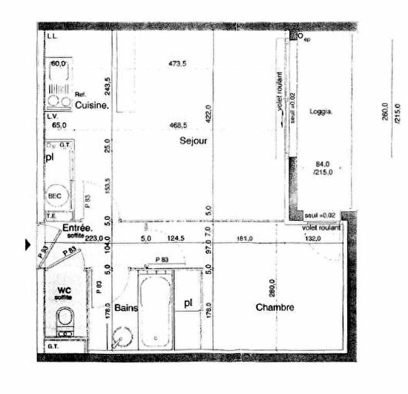 Appartement à louer 2 40m2 à Perros-Guirec vignette-2