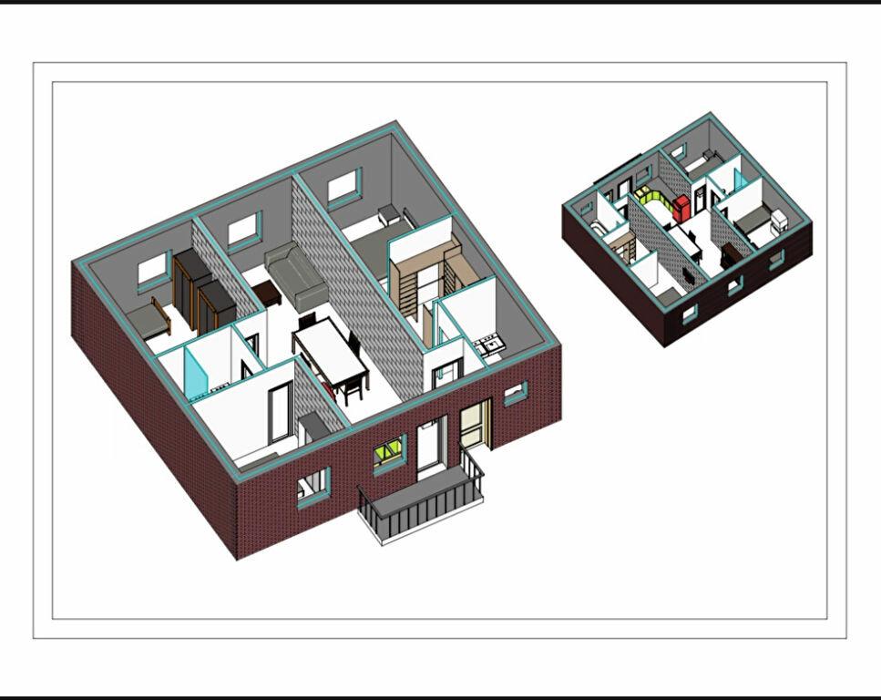 Appartement à vendre 4 81.15m2 à Le Touquet-Paris-Plage vignette-8