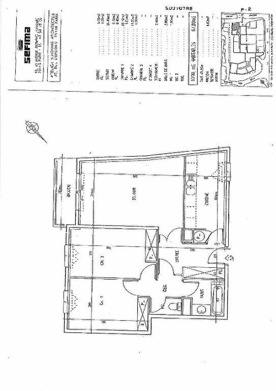 Appartement à vendre 3 68m2 à Châtillon vignette-7