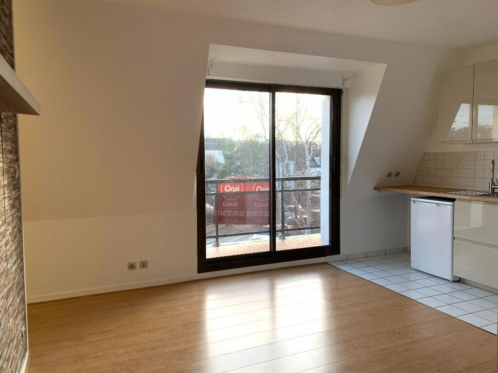 Appartement à louer 1 26.57m2 à Noisy-le-Grand vignette-3