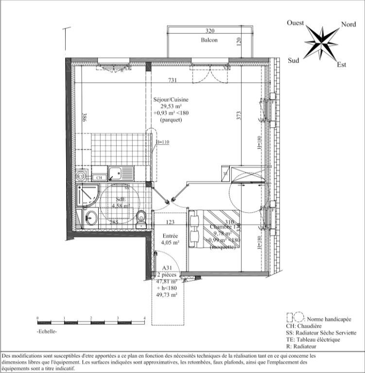 Appartement à vendre 2 53.57m2 à Pont-l'Évêque vignette-4