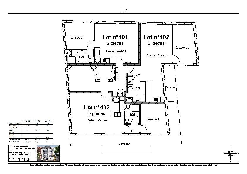 Appartement à vendre 2 49.45m2 à Le Havre vignette-2