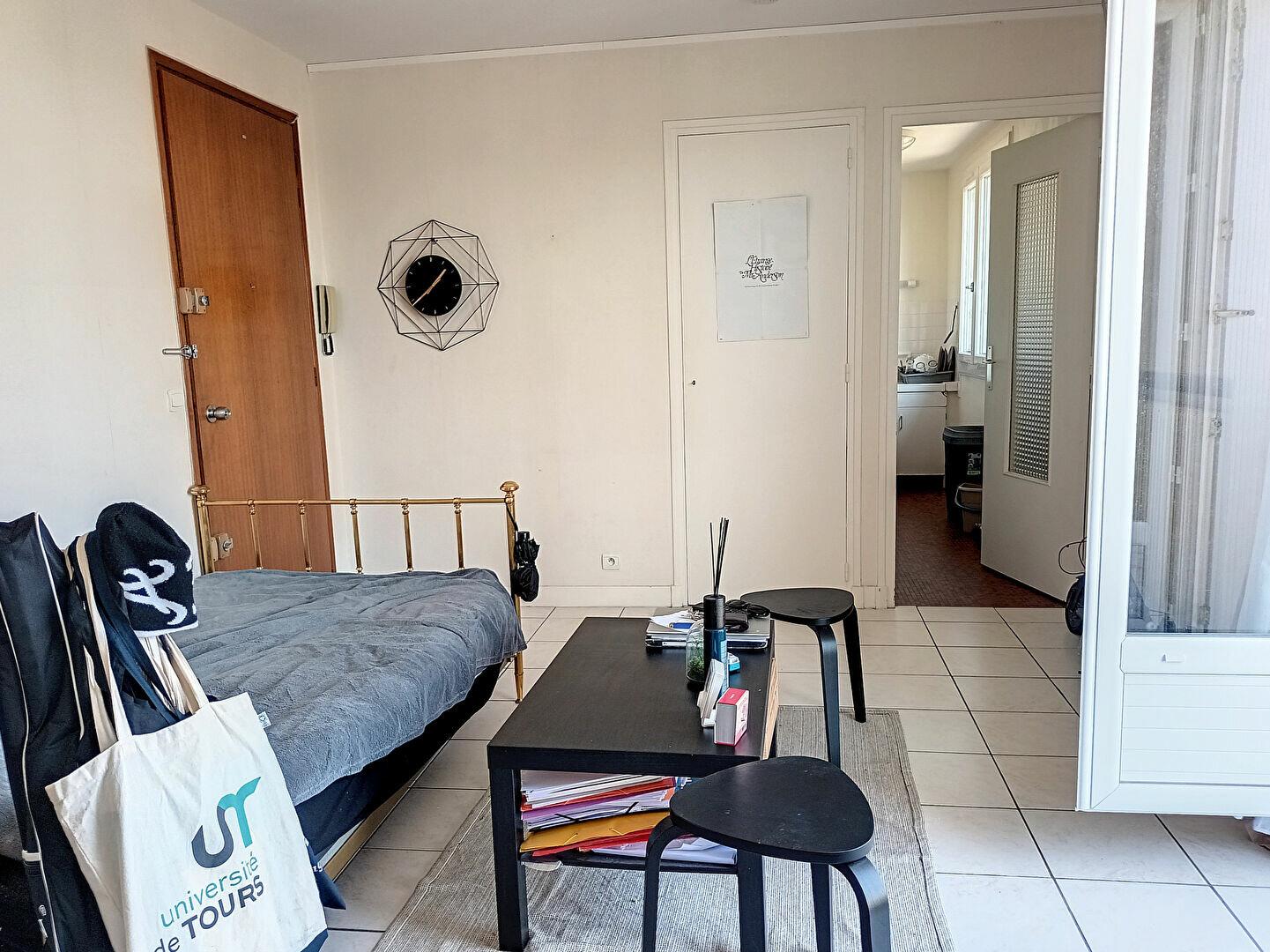 Appartement à louer 1 28.05m2 à Tours vignette-2