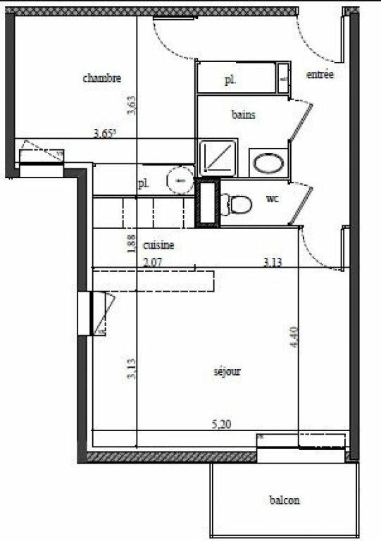 Appartement à louer 2 48.48m2 à Tours vignette-9