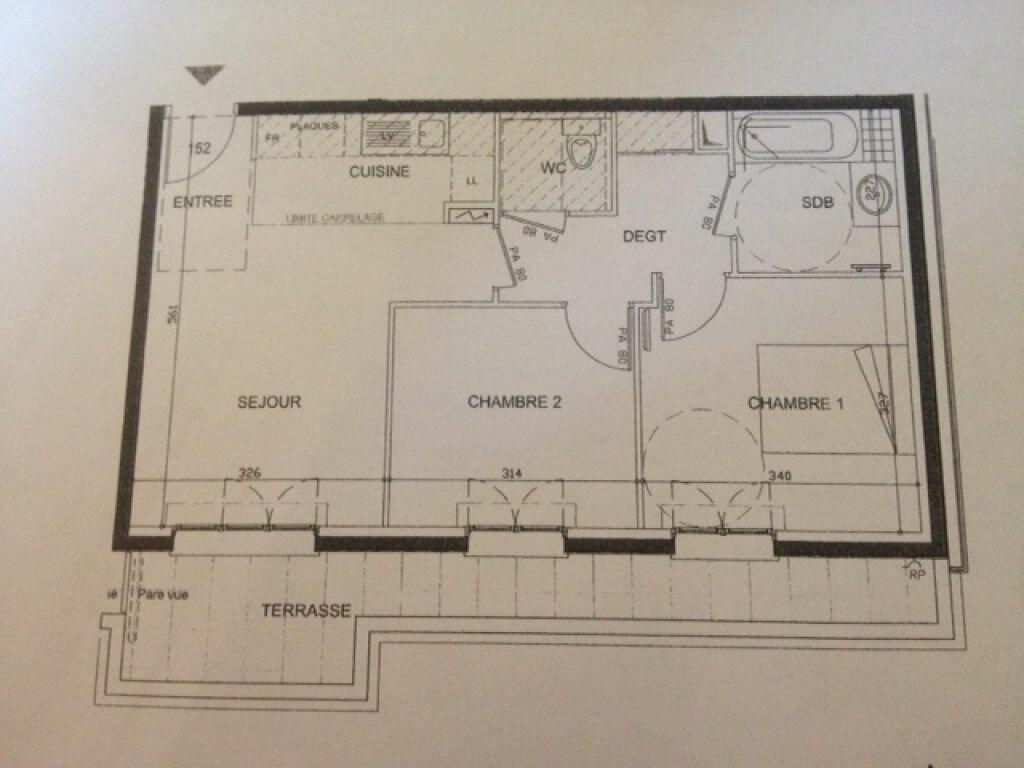Appartement à louer 3 53.67m2 à Bois-Colombes vignette-2
