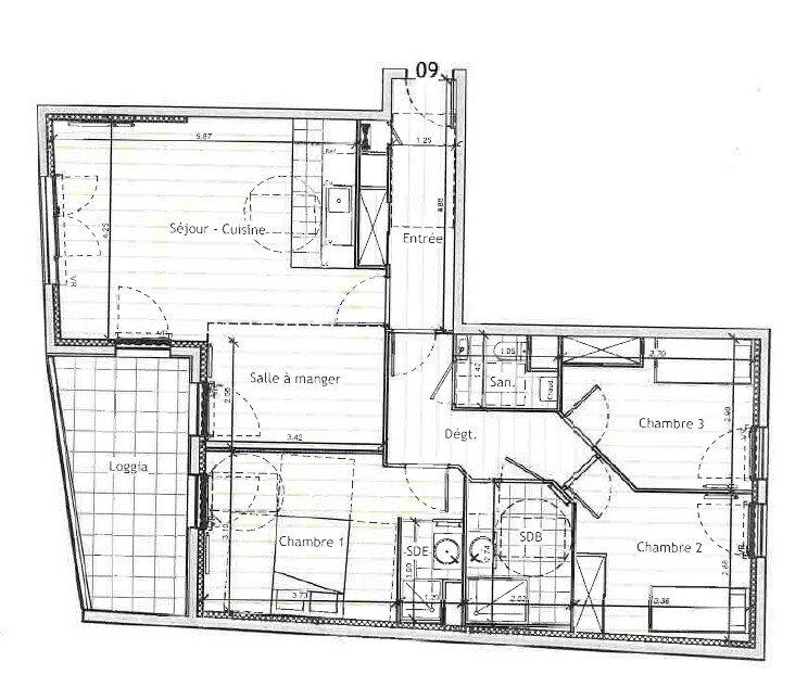 Appartement à vendre 4 88.65m2 à Houilles vignette-6
