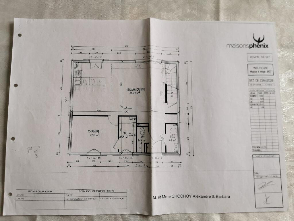 Maison à vendre 6 107m2 à Bouffémont plan-1