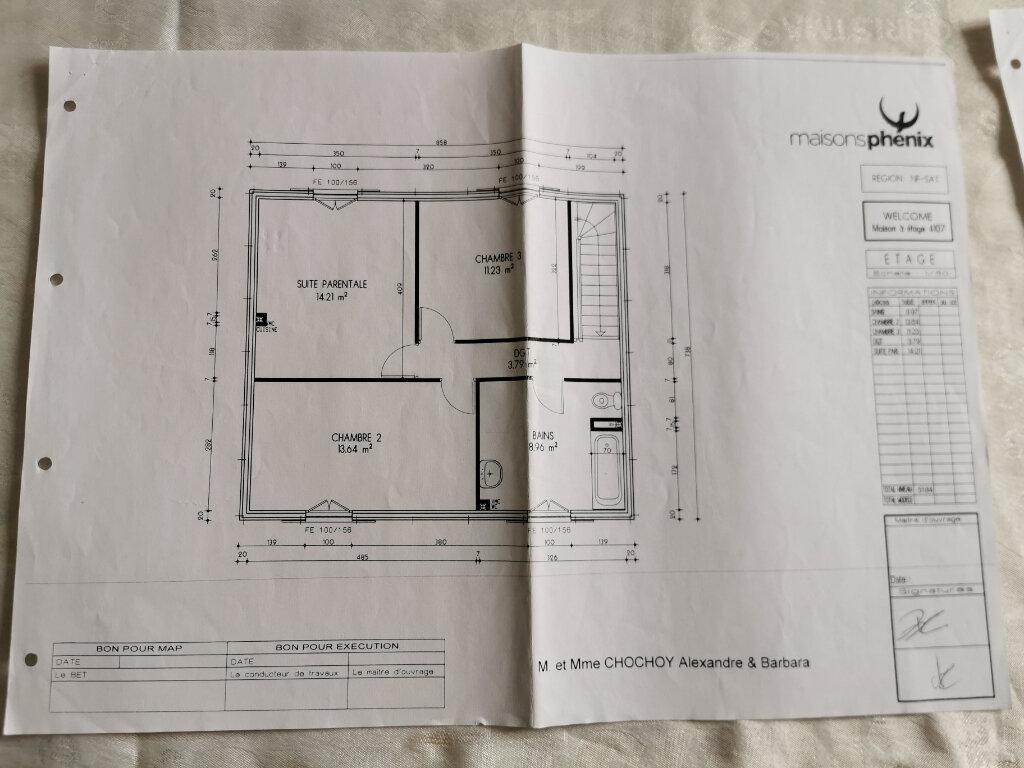 Maison à vendre 6 107m2 à Bouffémont plan-2