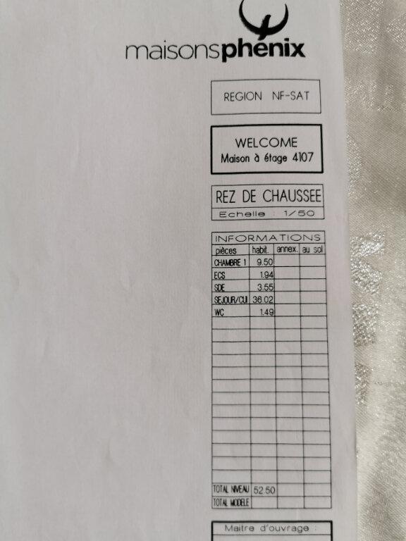 Maison à vendre 6 107m2 à Bouffémont plan-4
