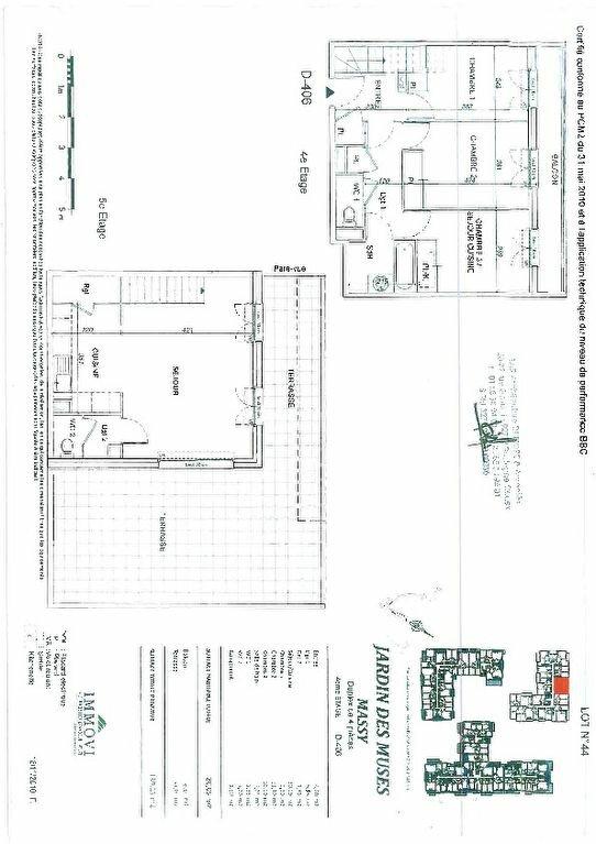 Appartement à louer 4 80.05m2 à Massy vignette-2