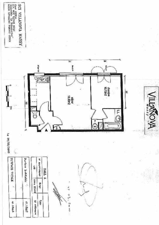Appartement à louer 2 41.18m2 à Massy vignette-2