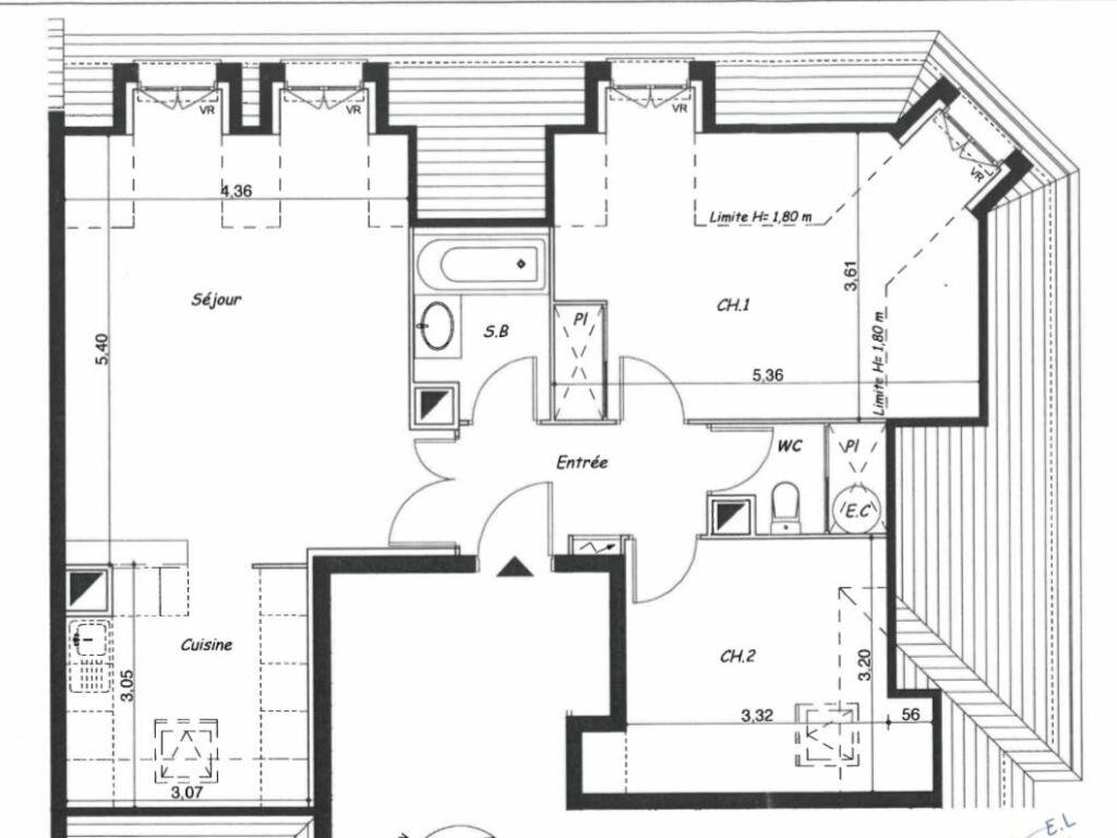 Appartement à vendre 3 64.98m2 à Limay vignette-11