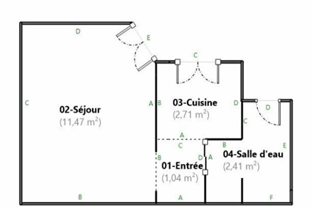 Appartement à louer 1 17.63m2 à Paris 18 vignette-7