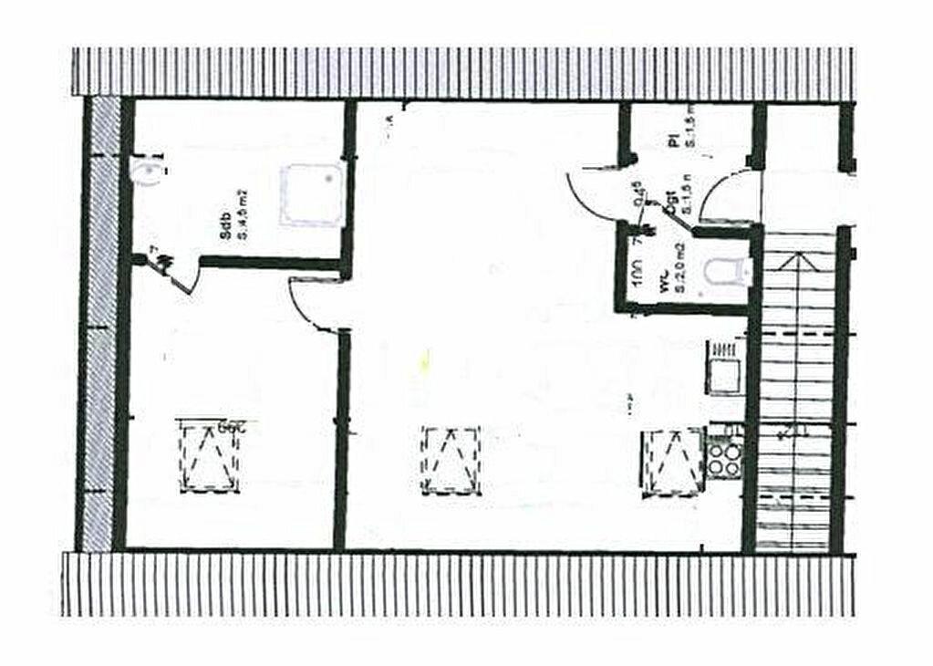 Appartement à louer 2 30m2 à Fondettes vignette-5