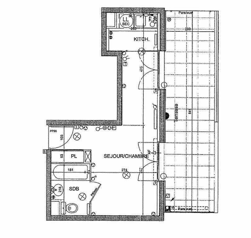 Appartement à louer 1 23.59m2 à Carrières-sous-Poissy vignette-2