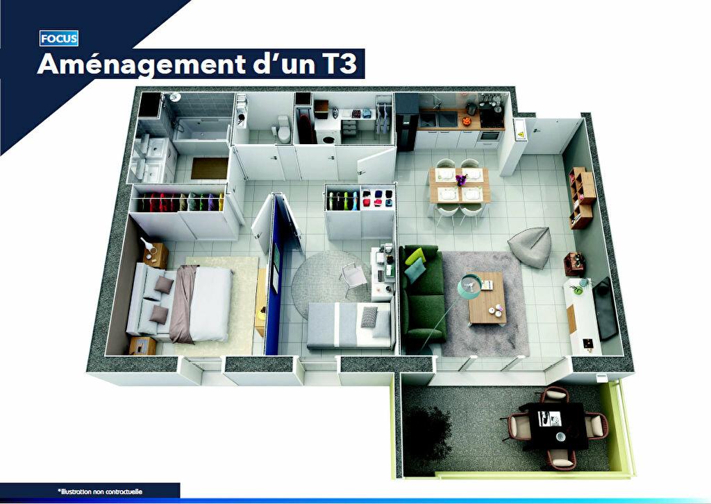 Appartement à vendre 3 60m2 à Le Pontet vignette-2