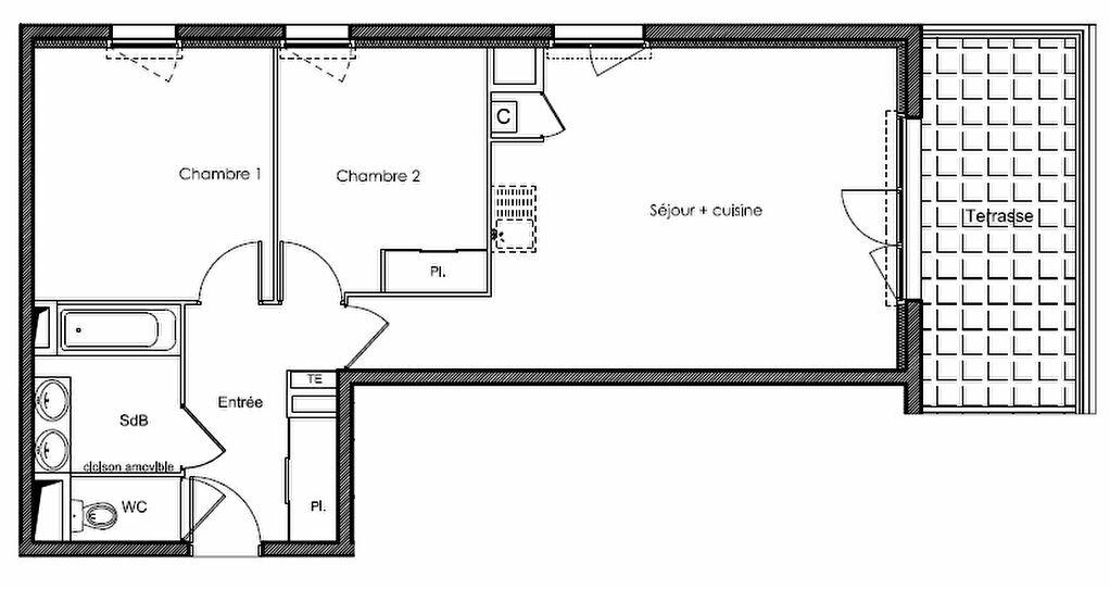 Appartement à vendre 3 60.6m2 à Villeneuve-lès-Avignon vignette-4