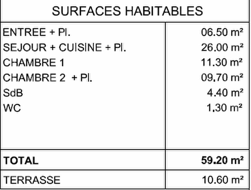 Appartement à vendre 3 60.6m2 à Villeneuve-lès-Avignon vignette-5