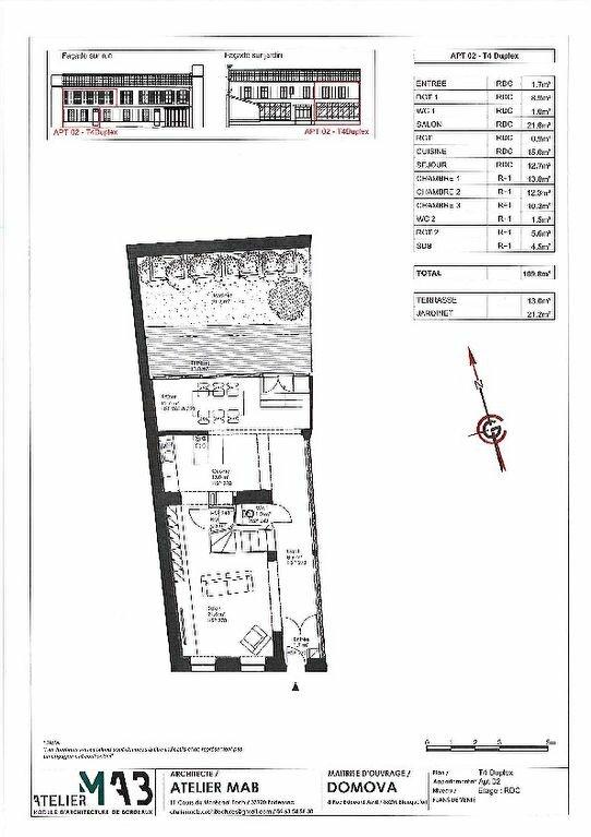 Appartement à vendre 4 109.8m2 à La Rochelle vignette-2
