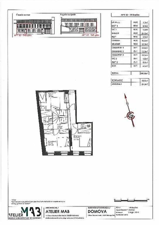 Appartement à vendre 4 109.8m2 à La Rochelle vignette-3