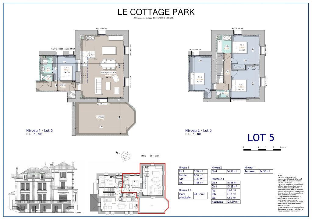 Appartement à vendre 5 120m2 à Caluire-et-Cuire vignette-2
