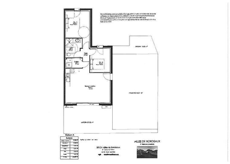 Maison à vendre 3 57.97m2 à Gujan-Mestras vignette-2