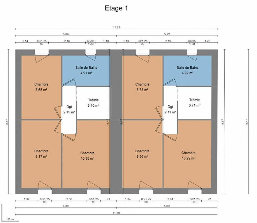 Maison à vendre 4 74m2 à La Seyne-sur-Mer vignette-2