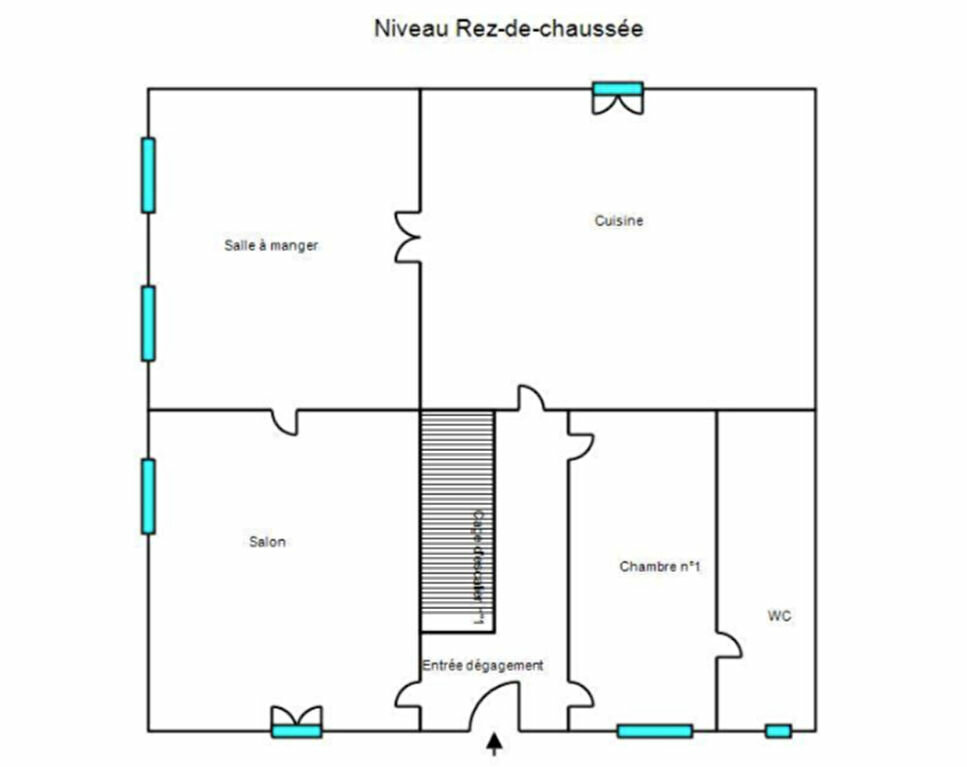 Maison à vendre 8 210m2 à Chanac plan-1
