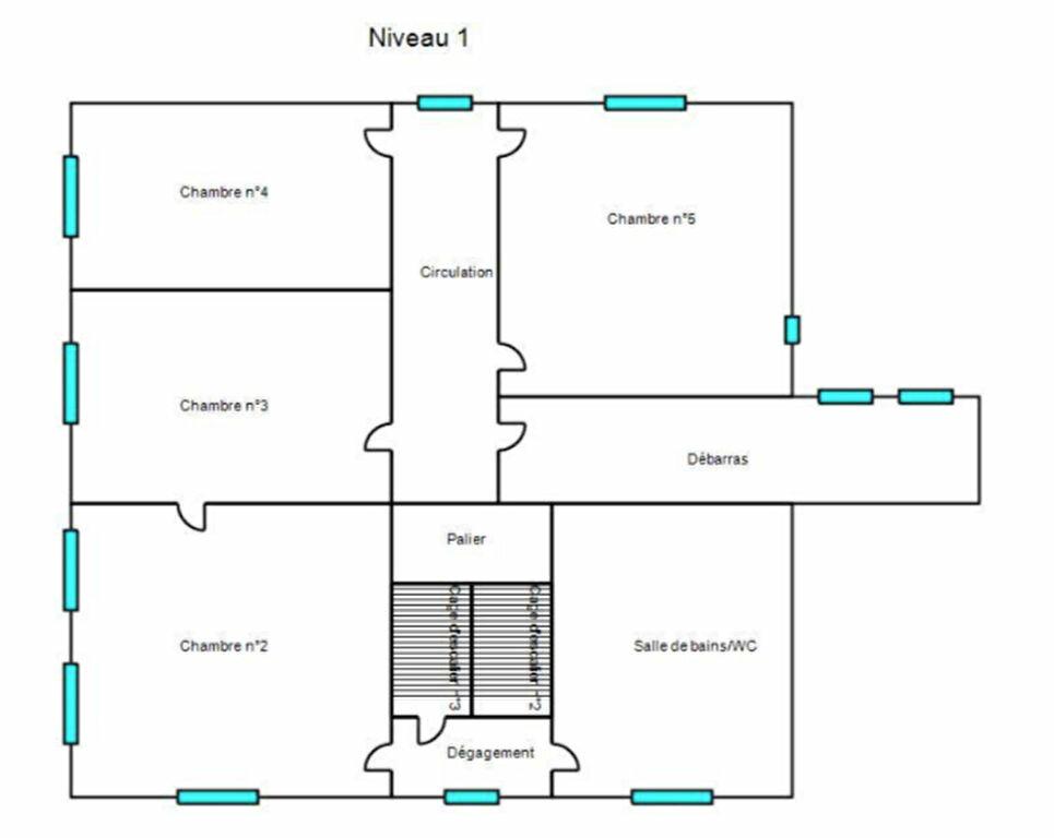 Maison à vendre 8 210m2 à Chanac plan-2