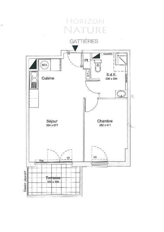 Appartement à louer 2 43m2 à Gattières vignette-8