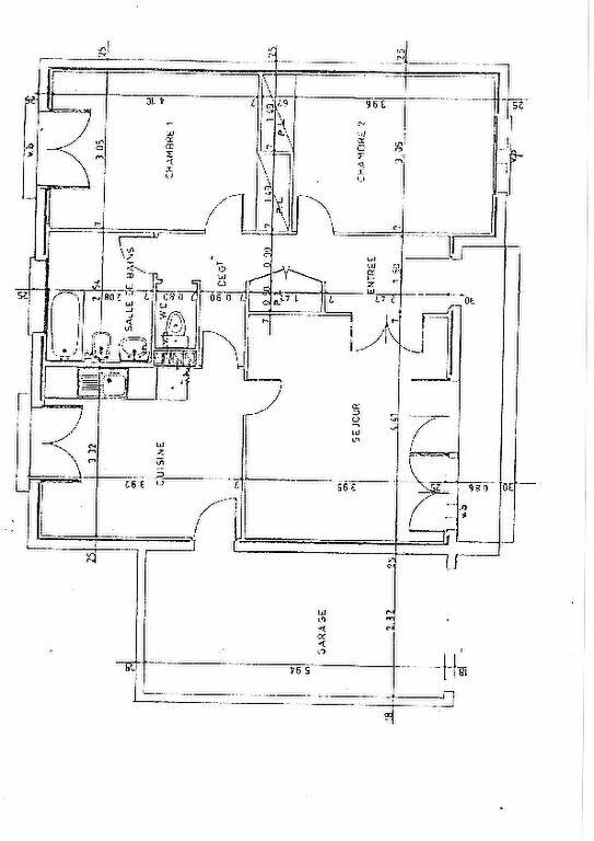 Maison à louer 3 72m2 à Brive-la-Gaillarde plan-1